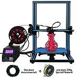 Creality CR-10S 3D Printer Upgrade Dual Z DIY Kit with Filament Sensor,Resume Priting 300x300x400mm Blue Black