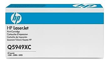 Cartouche HP LaserJet contrat Q5949XC Noir