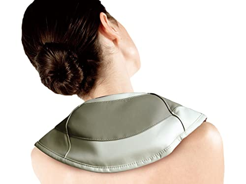 Iliving ILG-916 Neck and Shoulder Tapping Massager with Heat, Beige
