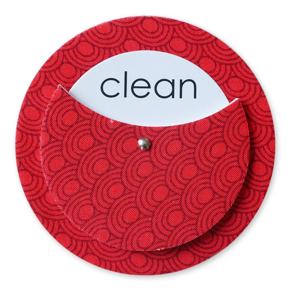 The Tulle Box Clean Dirty Dishwasher Magnet