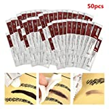 Guapa Scar Repair Gel 50Pcs/Bag Tattoo Recover Creams Vitamin Ointment A&D Anti Scar Tattoo Aftercare Cream for Body Art Tattoo Permanent Makeup (50pcs) (Tamaño: 50pcs)