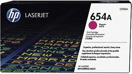 HP Inc. Toner Magenta Pages: 15.000 - No. 654A, CF333A (Pages: 15.000 - No. 654A Standard capacity)
