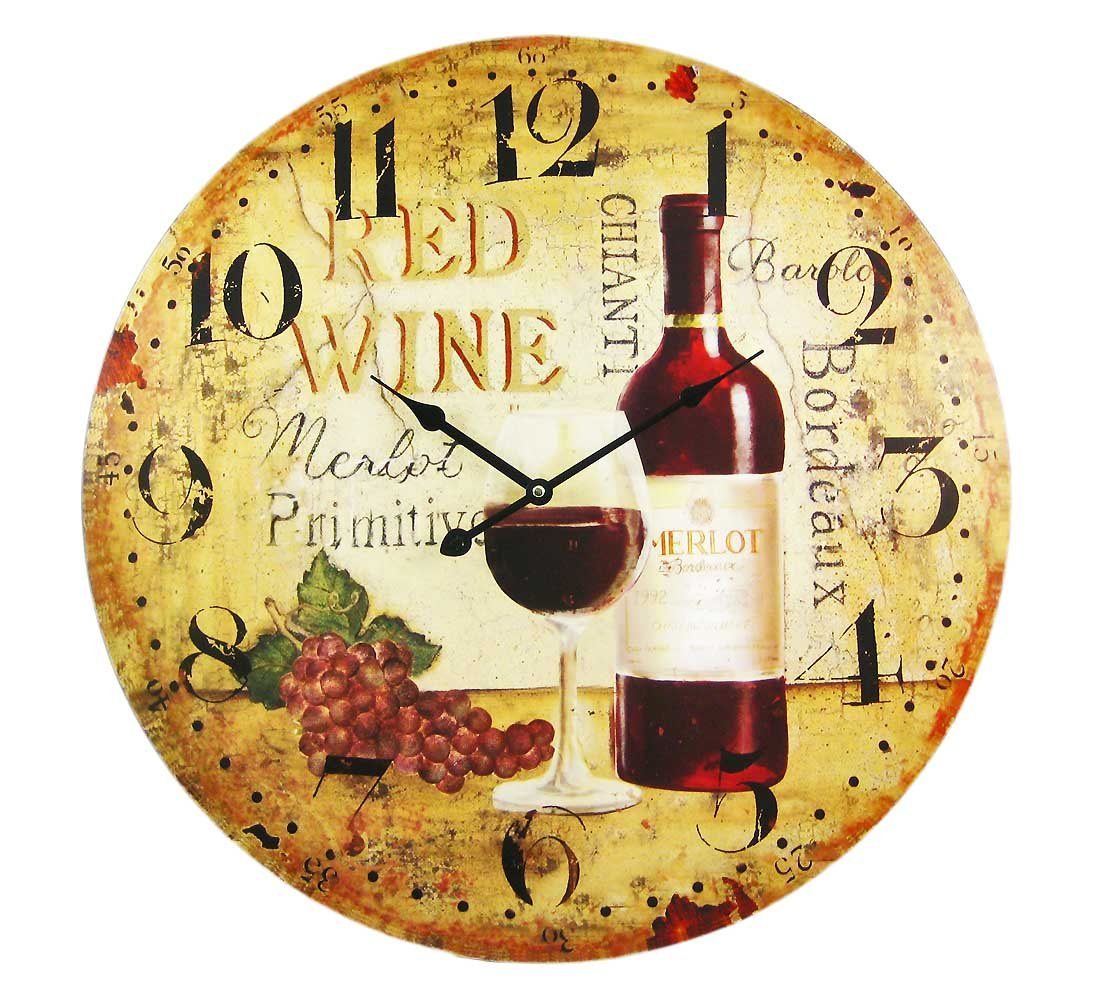 Vineyard Clock