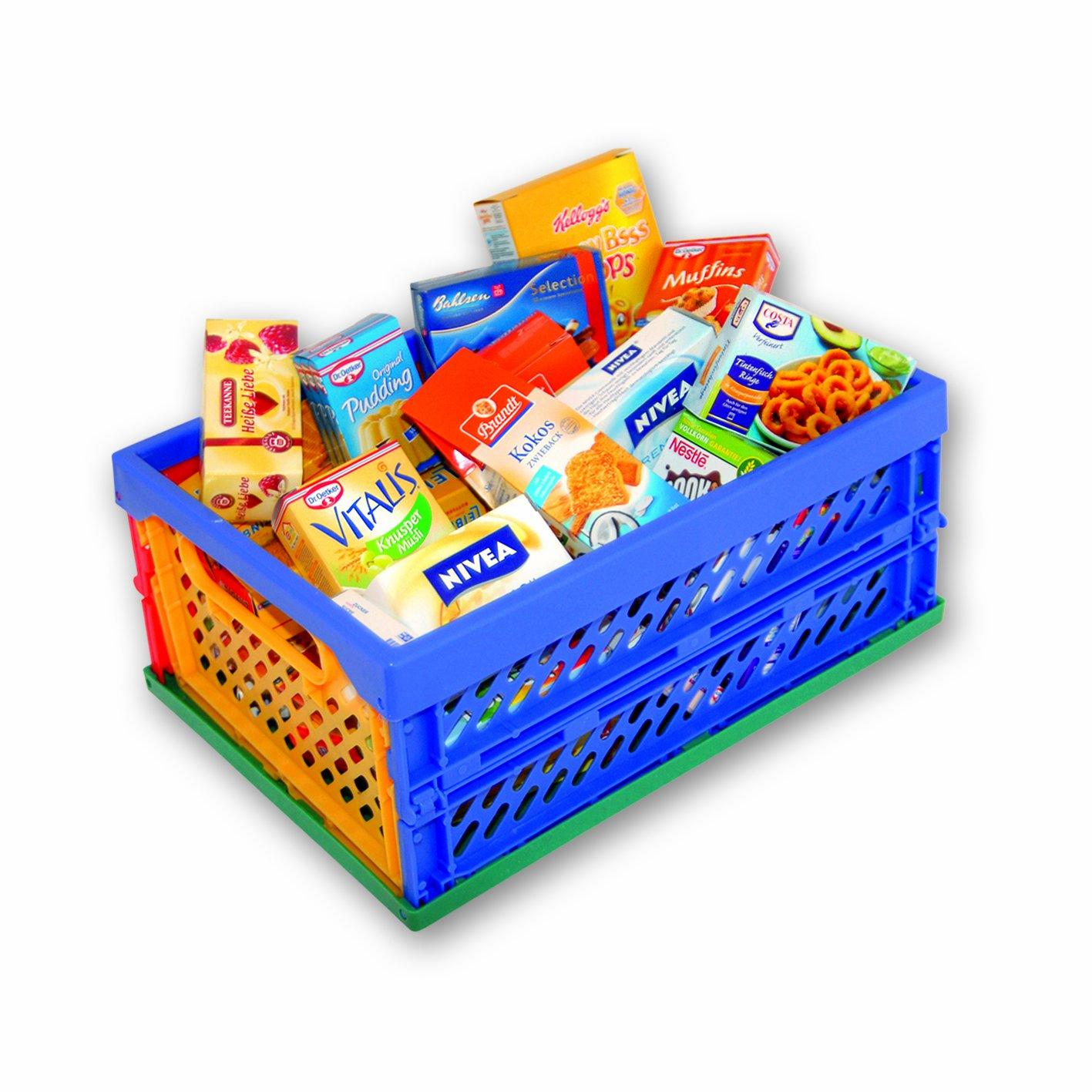 Tanner - Mini Klapp Box mit Kaufladenartikel