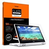 Spigen Tempered Glass Screen Protector Designed for Acer Chromebook R 11 Convertible (11.6 inch) (Color: Glas.tR Slim)