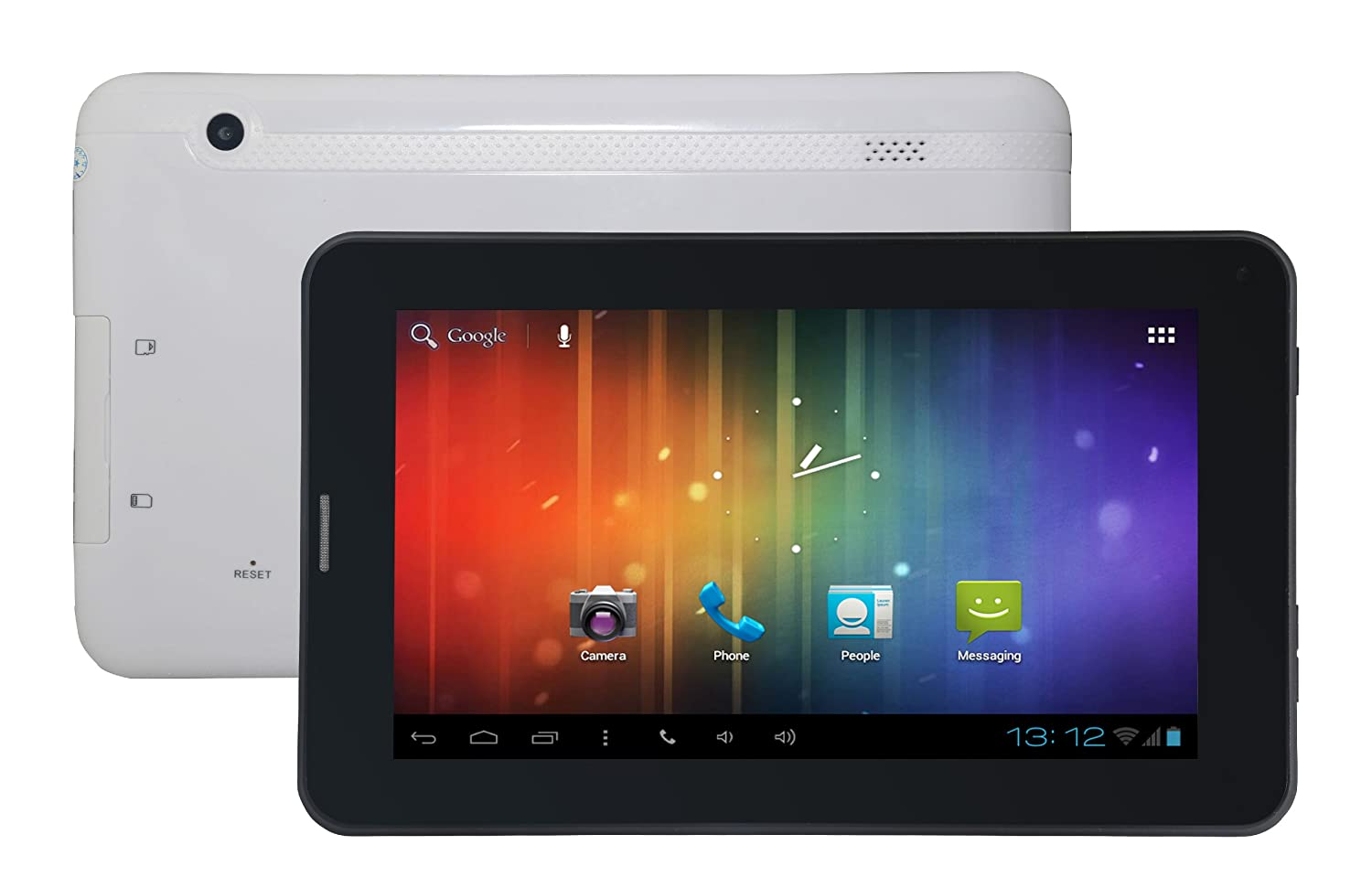 """Amazon.com : Tagital® 7\"""" Android 4.2 Bluetooth Phone Tablet GSM Dual Camera Unlocked Play Store Pre-installed"""