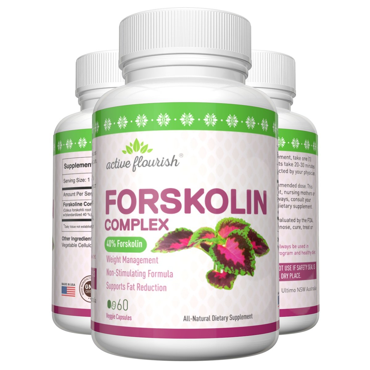 Forskolin 40%, All-Natural Weight Loss, Increase Lean Body Mass, Potential Treatment for Treatment of Bladder Infections and Hypertension 7 1oz 200g hoodia gordonii extract powder natural fat burners for weight loss free shipping