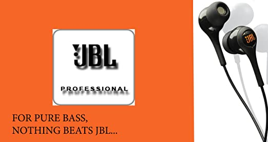 JBL Tempo J01A In-Ear Headphone with Mic at Rs 798 + Free Shipping