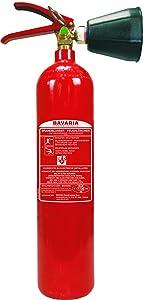 Bavaria BACB2 CO2 Feuerlöscher / KohlendioxidLöscher, 2 L  BaumarktKundenbewertung und Beschreibung