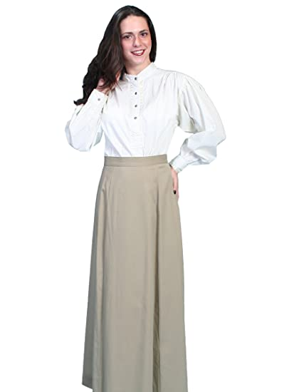 Victorian Costume Dresses & Skirts for Sale Brushed Twill Skirt $65.00 AT vintagedancer.com