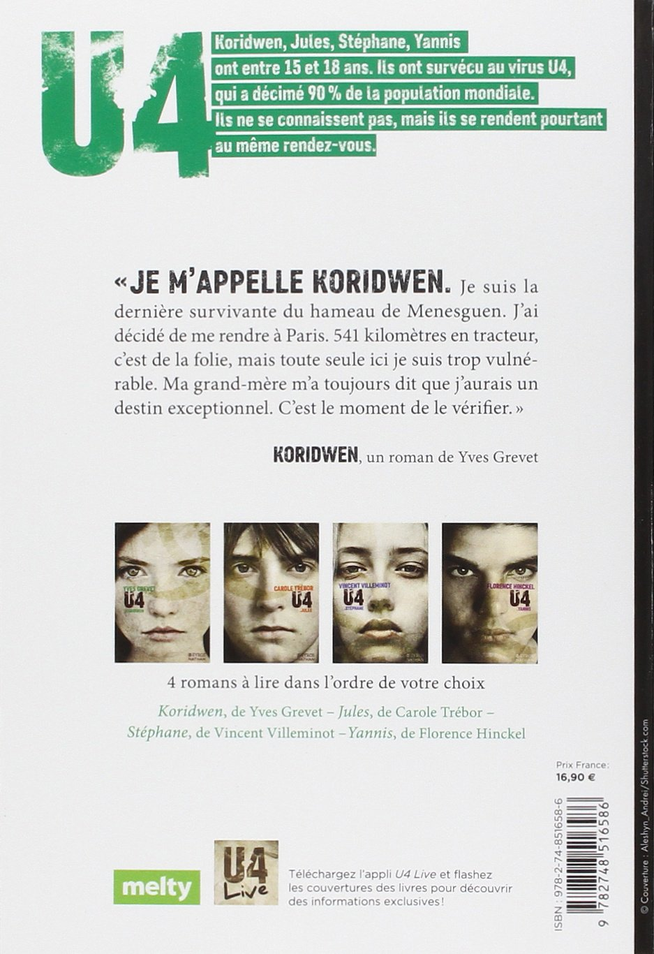 [Critique Littéraire] U4 Koridwen - Yves Grevet