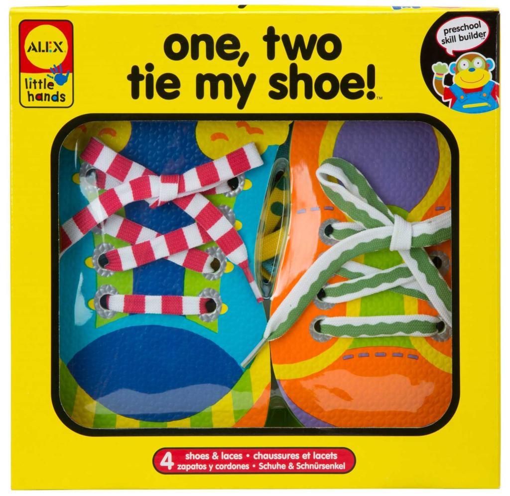 amazon com  alex toys little hands 1  2 tie my shoe  toys  u0026 games