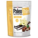 Julian Bakery : Paleo Thin : Protein Powder (Vanilla Nut) (Grass-Fed Beef (2 lbs) (30 Servings) (Tamaño: 30 Servings)