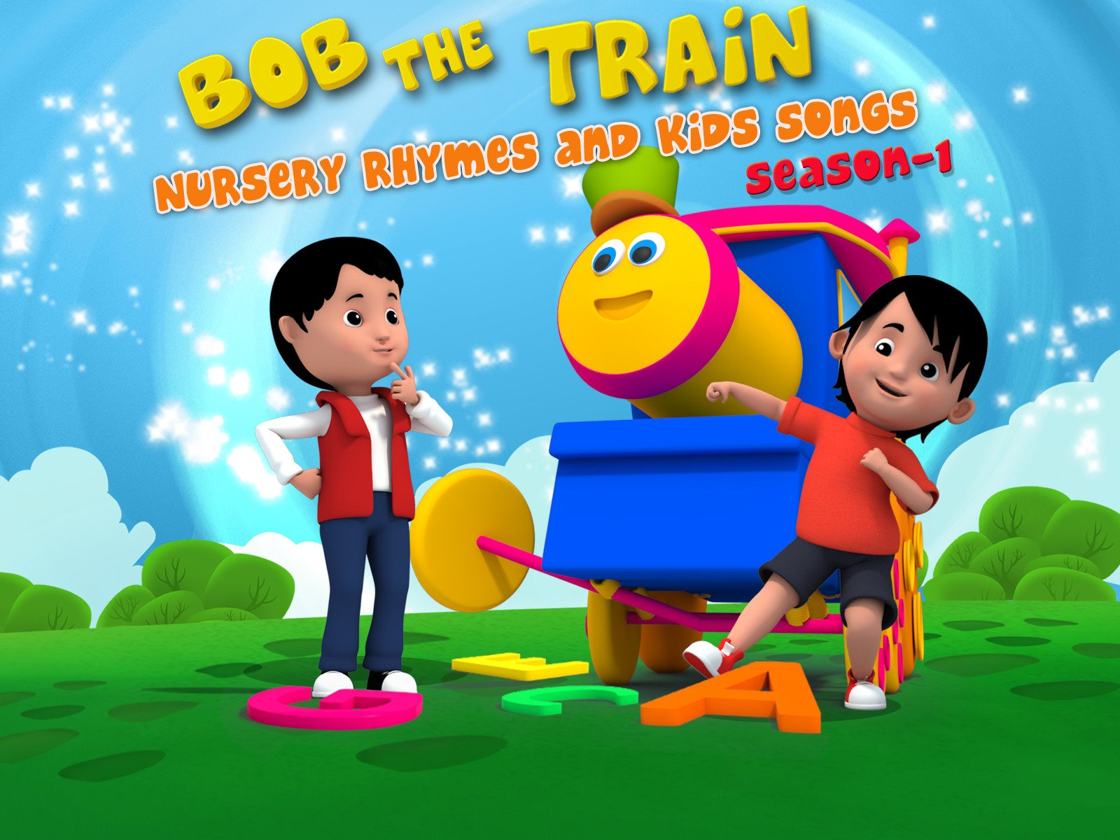 Bob the Train: Nursery Rhymes and Kids Songs - Season 1