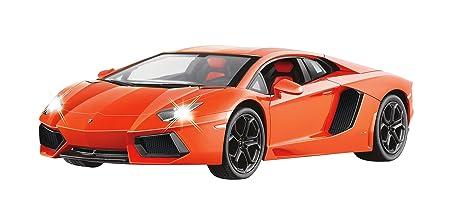 Jamara - 404315 - Maquette - Voiture - Lamborghini Aventador Lp700 - Orange - 3 Pièces