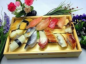 バリエーション豊富 食品サンプル お寿司 15個セット