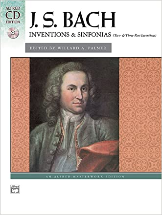 Bach -- Inventions & Sinfonias (2 & 3 Part Inventions): Comb Bound Book & CD (Alfred CD Edition)