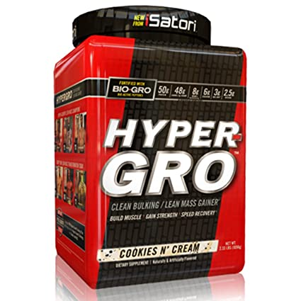 Isatori HYPER GRO Weight Gainer Cookies n Cream 1088 g