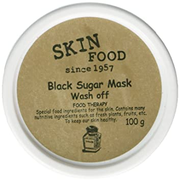Skin Food Black Sugar Mask Wash Off 100g/Made in Korea
