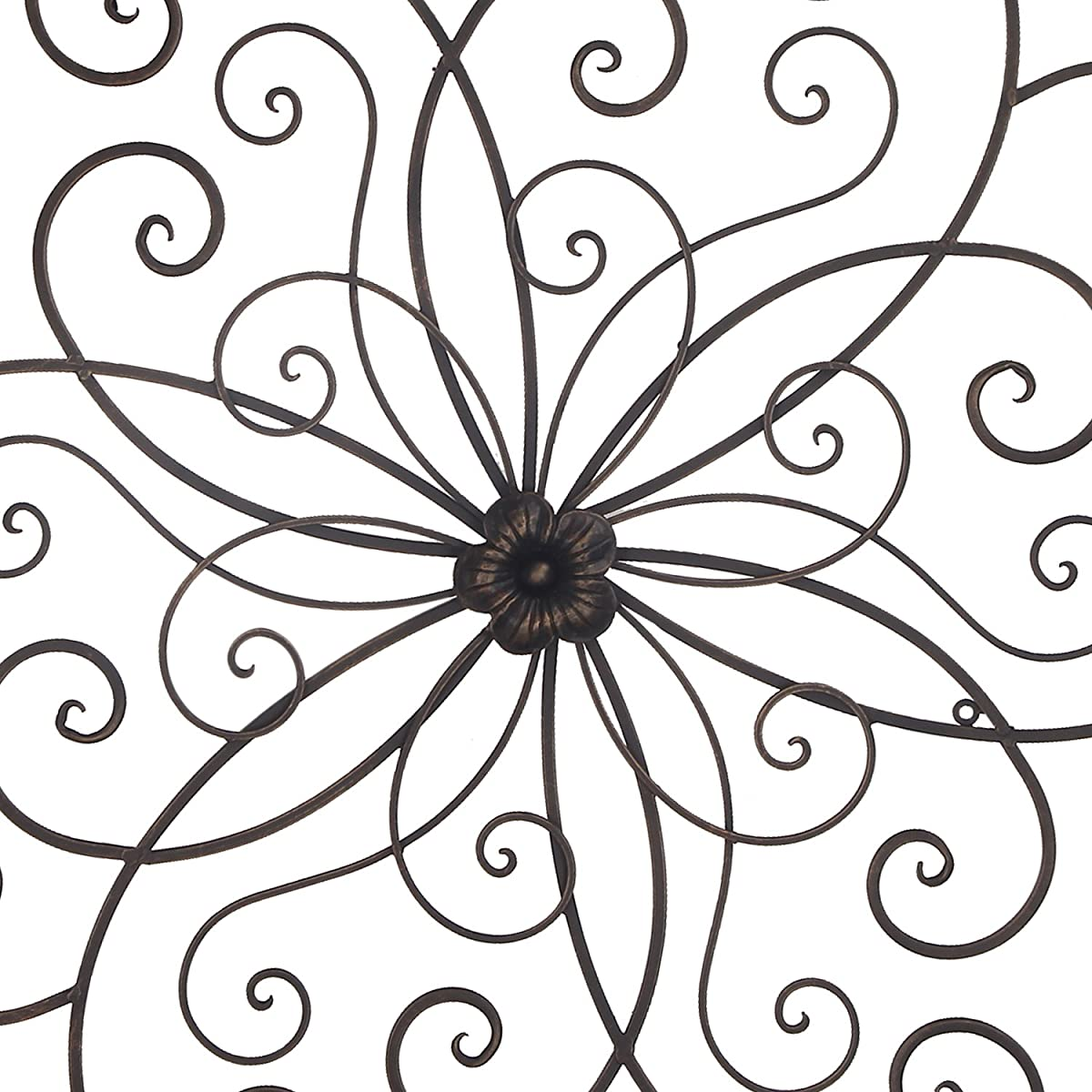 Homes Art Bronze Flower Urban Design Metal Wall Decor for Nature Home Art Decoration & Kitchen Gifts?