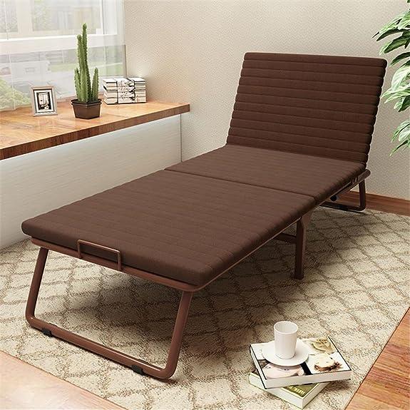 Letto pieghevole letto singolo divano pigro Soggiorno pranzo pranzo Letto letto Letto semplice Recliner , brown