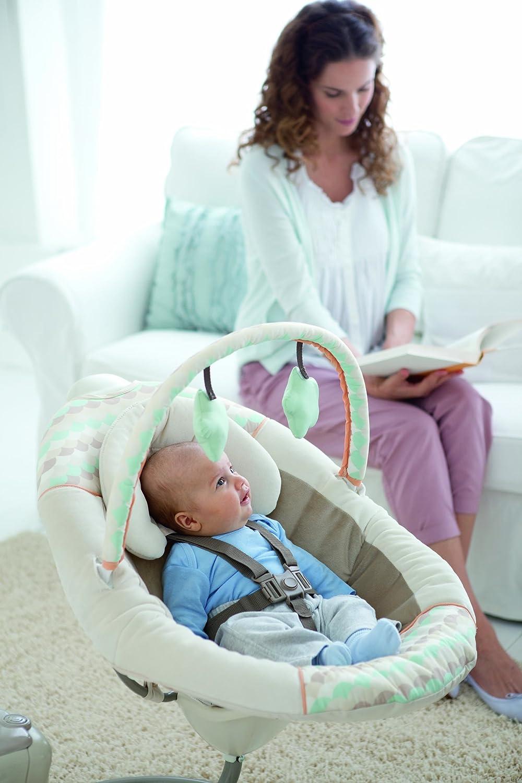 Silla mecedora graco columpio d bebe como nuevo modelo for Silla mecedora graco 6 velocidades