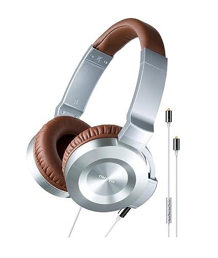 Onkyo ES-CTI300 (S) Casque audio argenté, cordon argenté