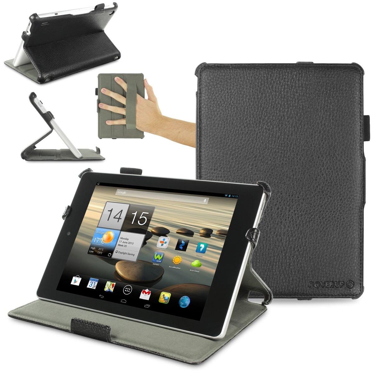 Cover-Up - Funda con función atril para tablet Acer Iconia A1-810/ A1-811 de 9,7, color negro  Informática revisión y descripción más