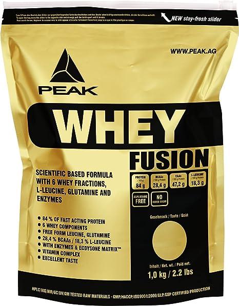 Peak Whey Fusion - Protein Matrix, Peanut Butter, 1er Pack (1 x 1 kg)