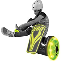 Neon Kids Light Up Clip On Skates Street Rollers