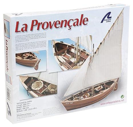 Artesania - Maquette en bois - La Provençale : Bateau de pêche des côtes de Provence