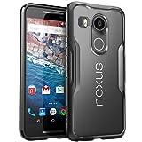 Nexus 5X Case, SUPCASE Google Nexus 5X Case Cover (2015 Release) Unicorn Beetle Series PremiumSlim Hybrid Protective Case/Bumper (Frost/Black) (Color: Frost/Black)