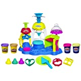 Play-Doh Frosting Fun Bakery Cake and Cupcake Toy with 4 Non-Toxic Colors, Including Play-Doh Plus (Amazon Exclusive) (Color: Multi Color)