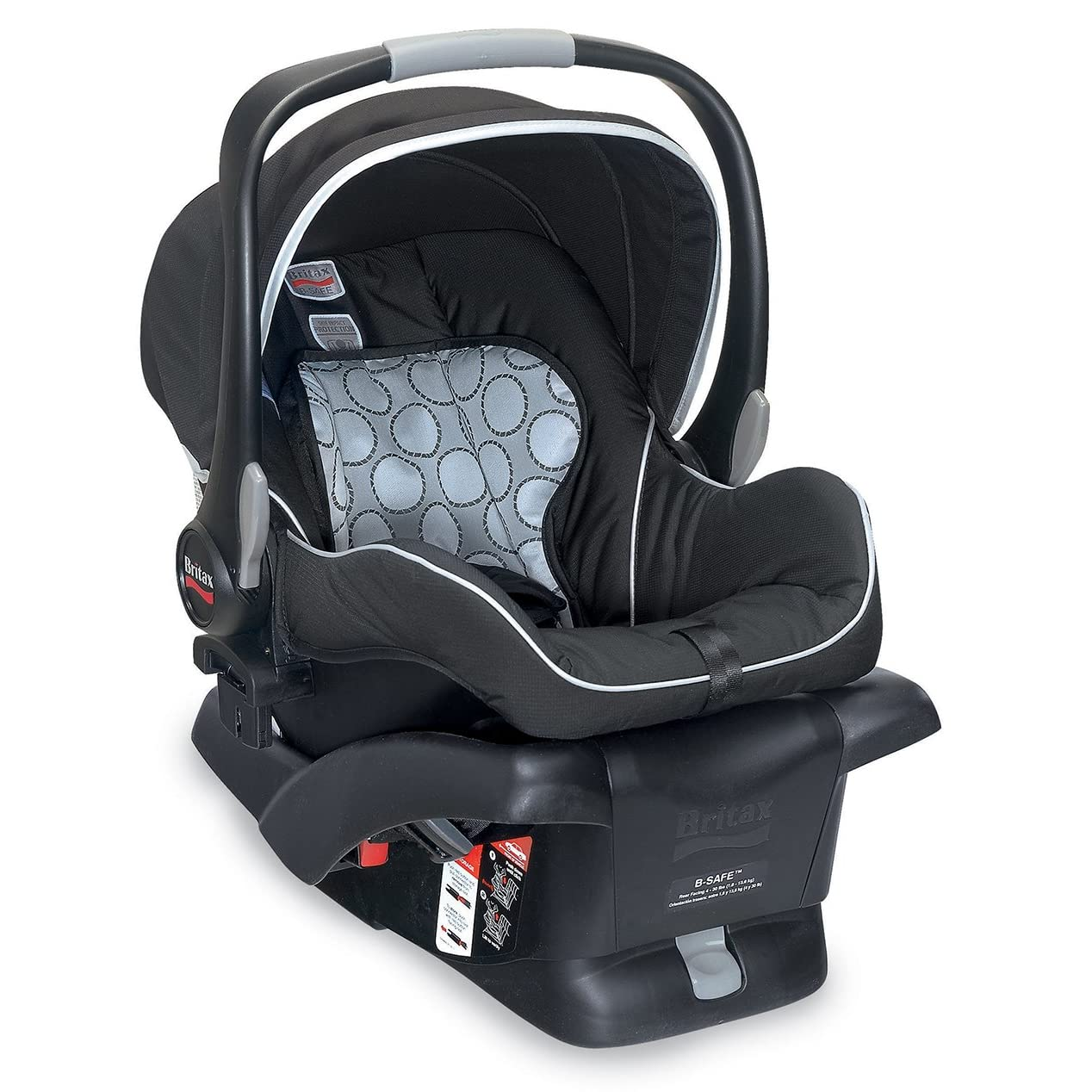 britax b safe infant car seat black brand new ebay. Black Bedroom Furniture Sets. Home Design Ideas