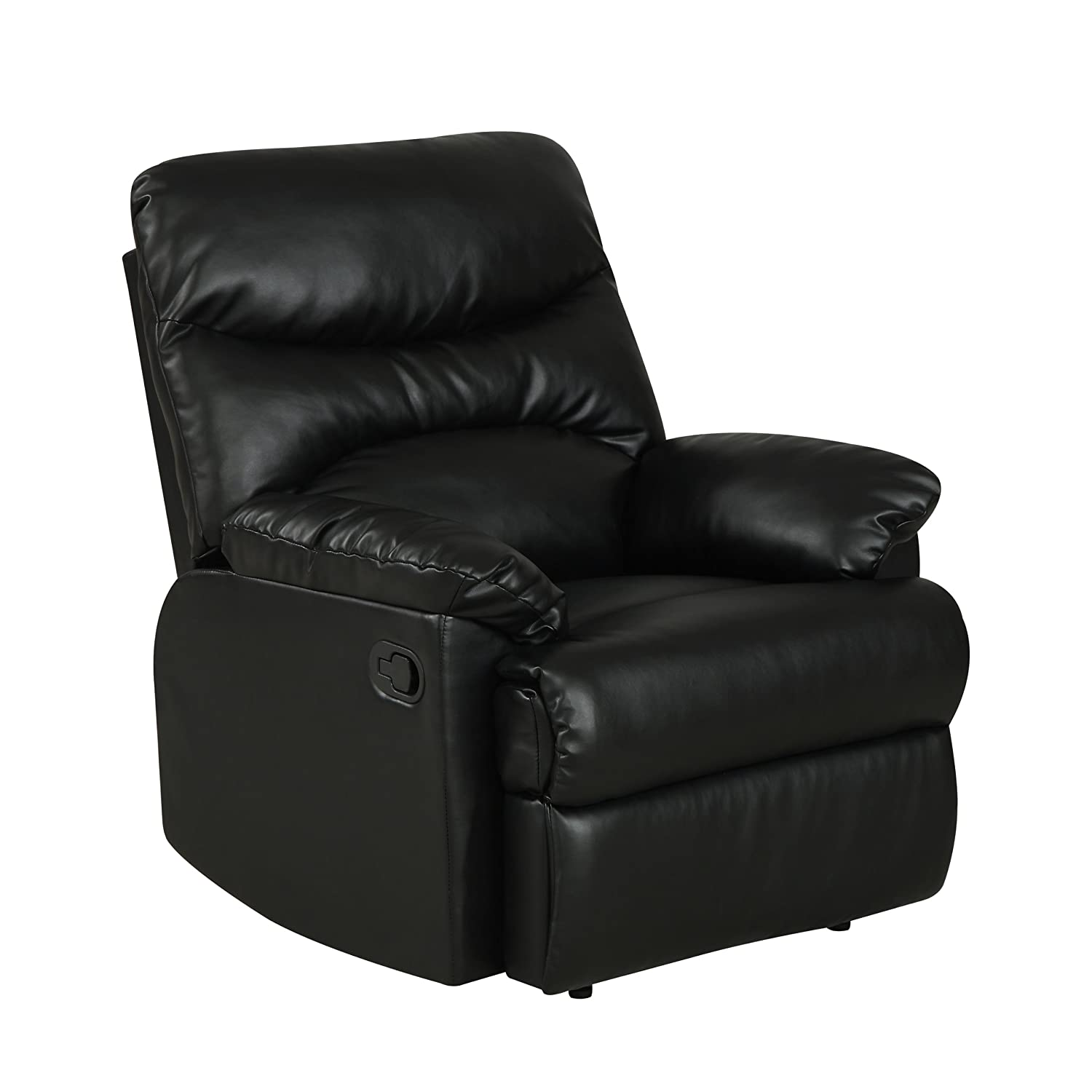 ProLounger Wall Hugger Renu Leather Recliner  sc 1 st  Best Recliners : small black leather recliner - islam-shia.org