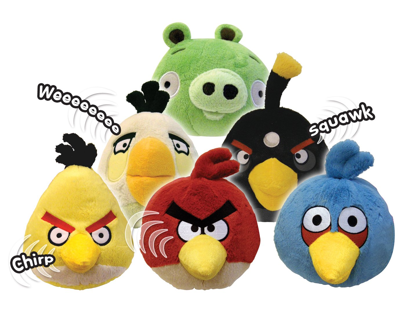 Angry Birds Toys : Angry birds plush inch red bird with sound new toys
