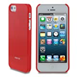 rooCASE Ultra Slim Gloss (Red) Shell Case for Apple iPhone 5 (Newest iPhone Sept 2012)