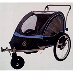 Schwinn Scout Bicycle Trailer - Converts to Double Stroller
