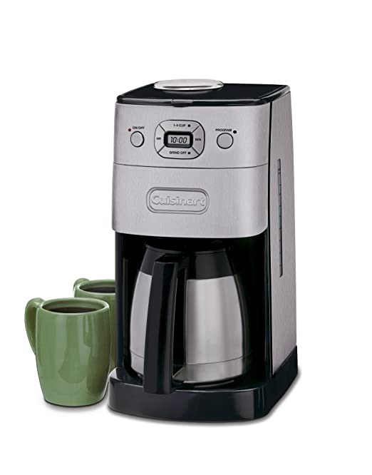 Cuisinart DGB-650C 10Cup Grind and Brew Thermal Automatic Coffeemaker (Silver/Black): Amazon.ca: Home & Kitchen