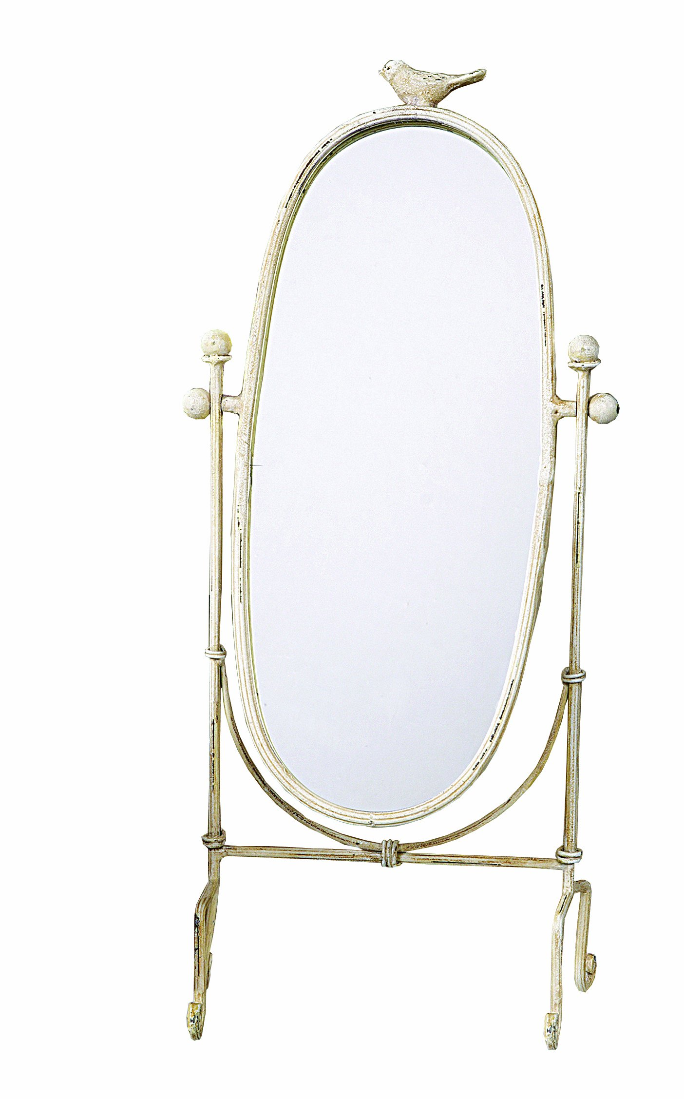 Creative Co Op Cottage Chic Vanity Mirror 18 5 Inch