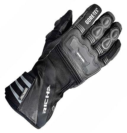 RICHA gants arctic, zwart, taille 3XL