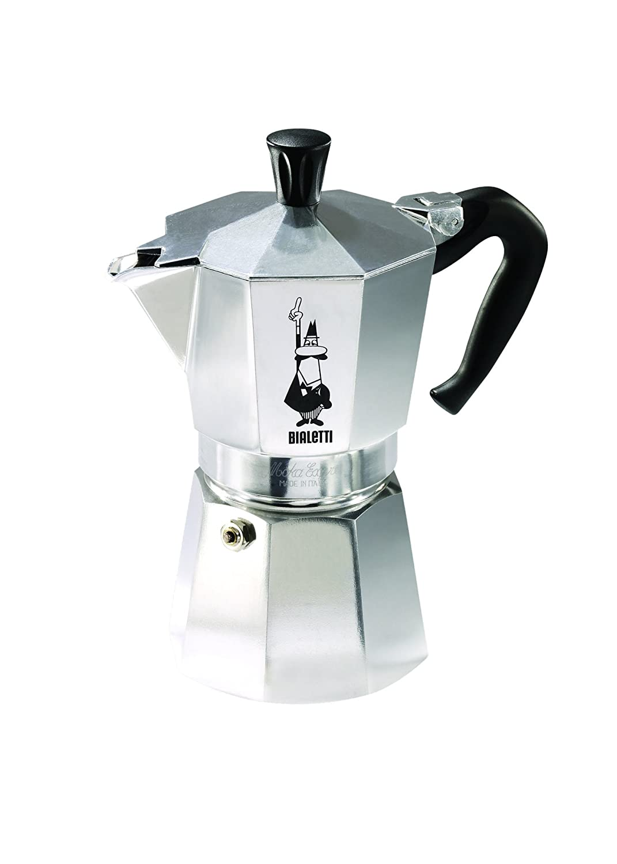 new bialetti 6800 moka express 6 cup stovetop espresso maker 8006363019088 ebay. Black Bedroom Furniture Sets. Home Design Ideas