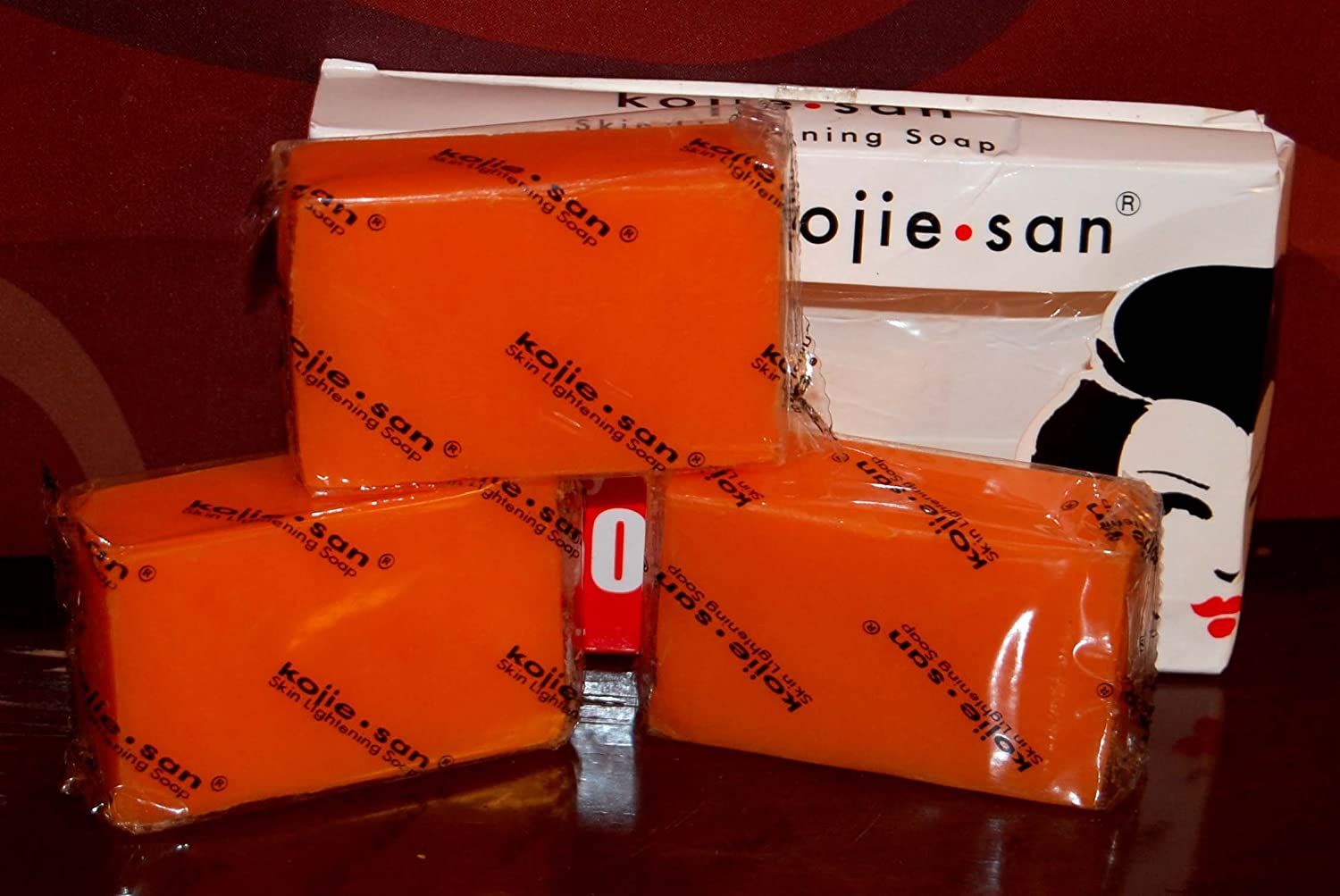 Kojie San Orange Kojic Whitening Soap