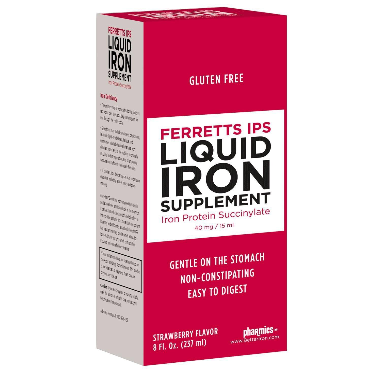 Details about Ferretts IPS Liquid Iron Supplement