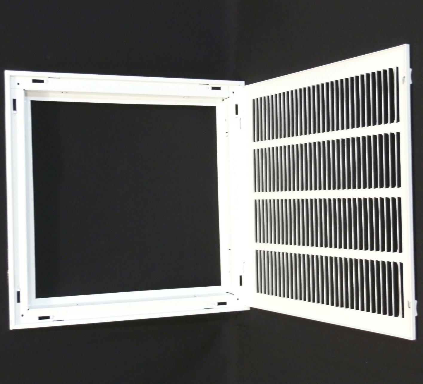16w Quot X 16h Quot Return Filter Grille Hvac Dcut Cover Flat