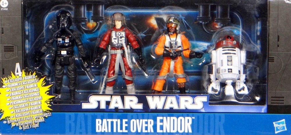 "Hasbro Star Wars  Collector Set ""Battle over Endor"" mit Grizz Frix, Palso Thern, Major Mianda & R2-T7 Droid – online bestellen"