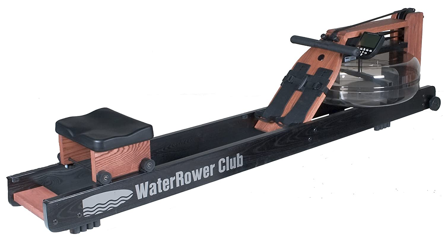 WaterRower Club Rowing Machine in Ash Wood with S4 Monitor by Water Rower