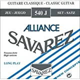 Savarez Strings 545J Bronze Classical Guitar Strings, Medium