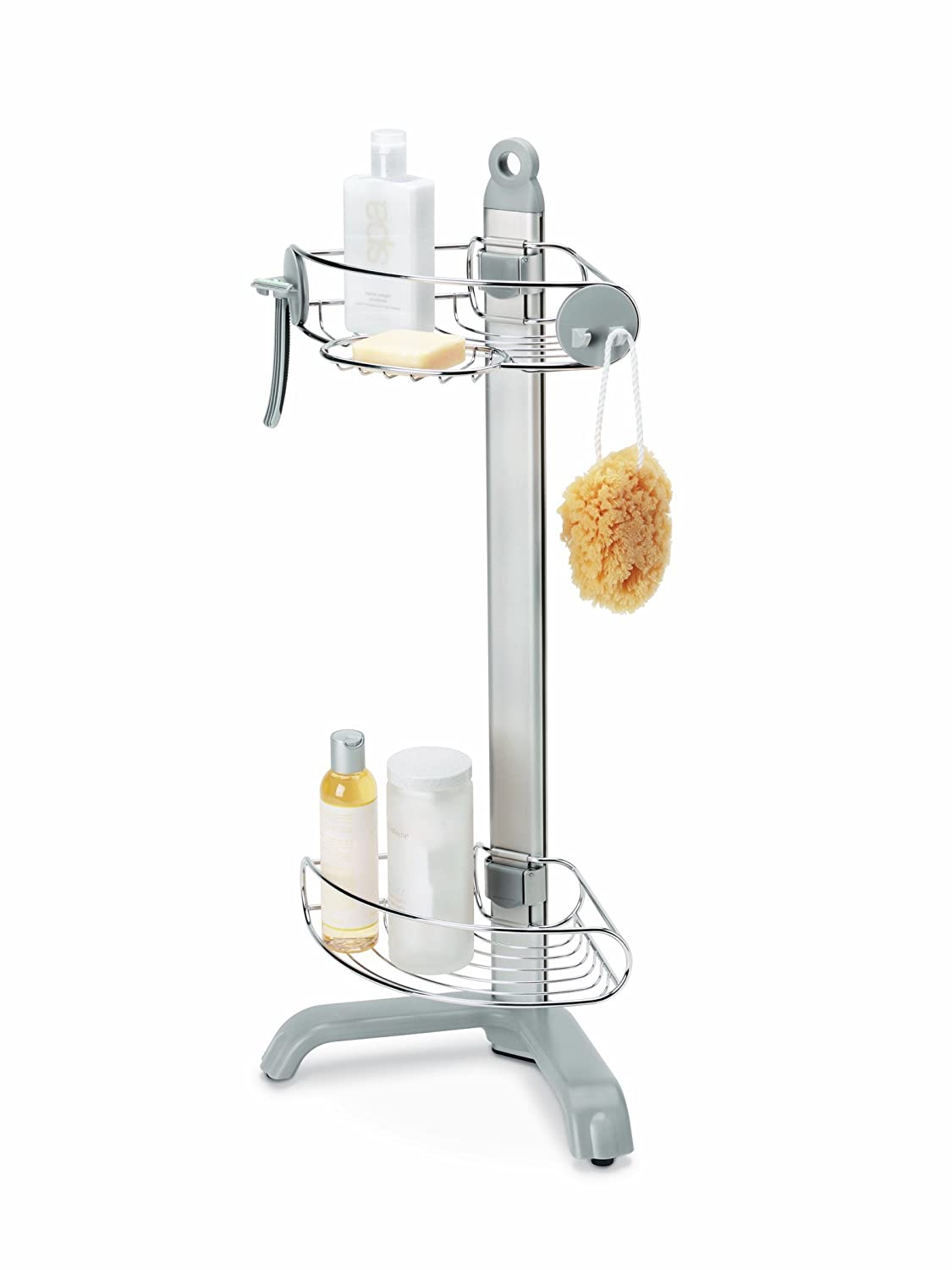simple human corner shower caddy bt1064 ebay. Black Bedroom Furniture Sets. Home Design Ideas