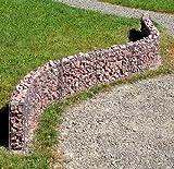 Mauergitter für gerade und geschwungene Mauern Höhe 40 cm 95550